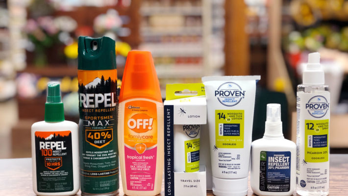 Choosing and Using the right Insect Repellents